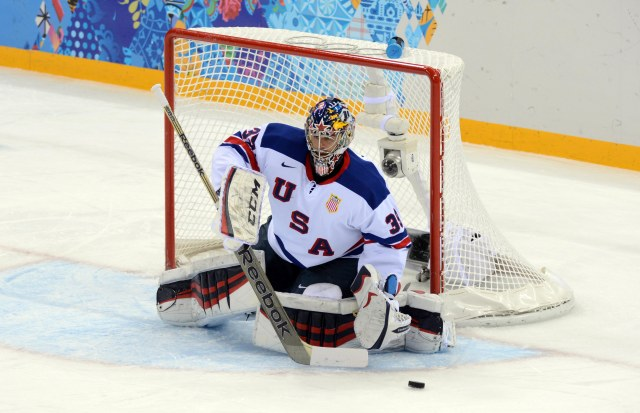 Ryan Miller played well in his debut. (Jayne Kamin-Oncea, USA TODAY Sports)