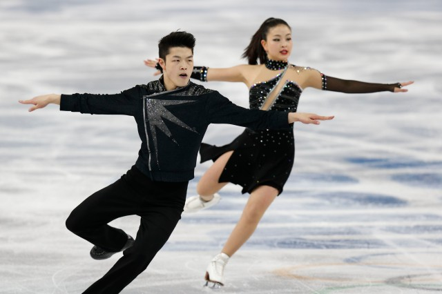 Olympics: Figure Skating-Ice Dance Free Dance