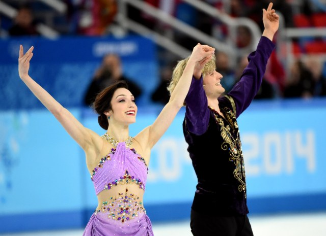Meryl Davis and Charlie White (Robert Deutsch-USA TODAY Sports)