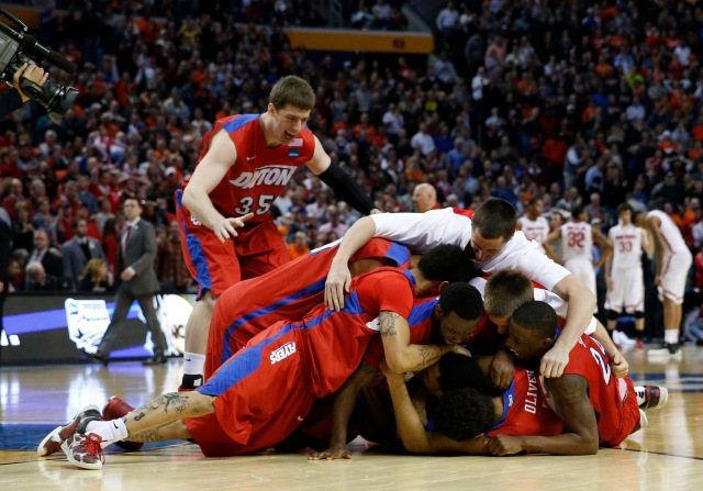 With its win over Ohio State, Dayton earned the Atlantic 10 $1.5 million over the next six years. (Kevin Hoffman, USA TODAY Sports)