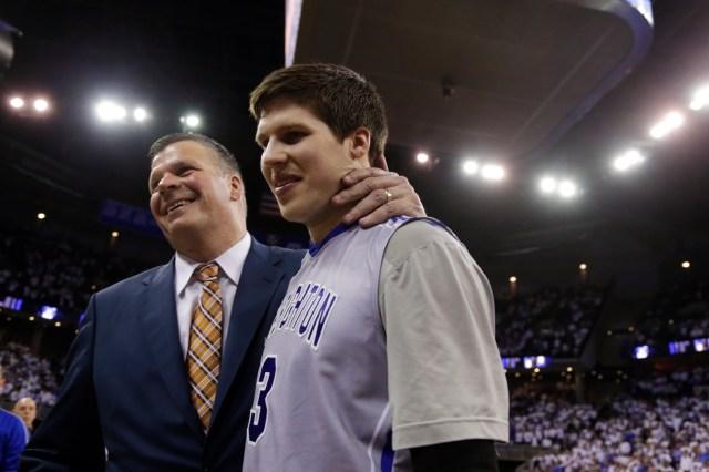 Coach Greg McDermott and his son Doug lead a dangerous Creighton team. (Nati Harnik, AP Photo)