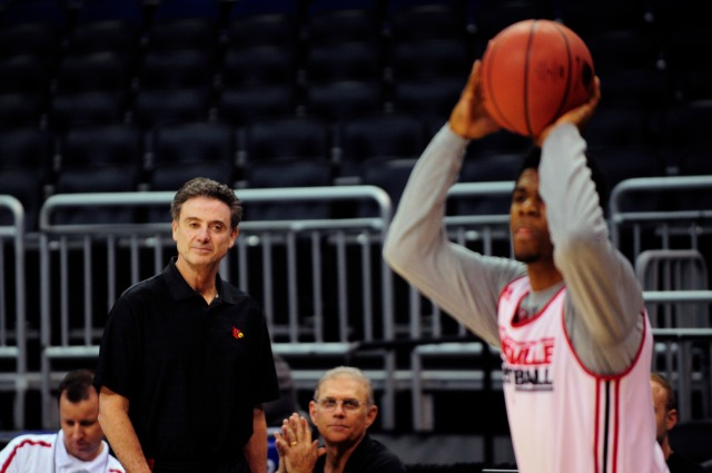 Rick Pitino must face a protege in Louisville's first-round game. (David Manning, USA TODAY Sports)