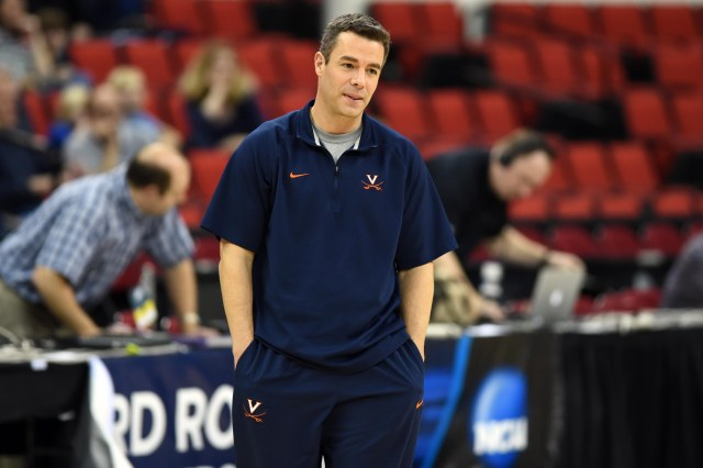Virginia head coach Tony Bennett appears to be a good-natured fellow.  (Bob Donnan, USA TODAY Sports)