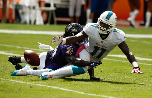 Mike Wallace says he's developed a strong rapport with Ryan Tannehill this year. (Robert Mayer-USA TODAY Sports)