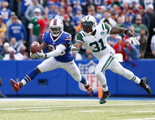 Antonio Cromartie (right) and Marquise Goodwin (Kevin Hoffman-USA TODAY Sports)