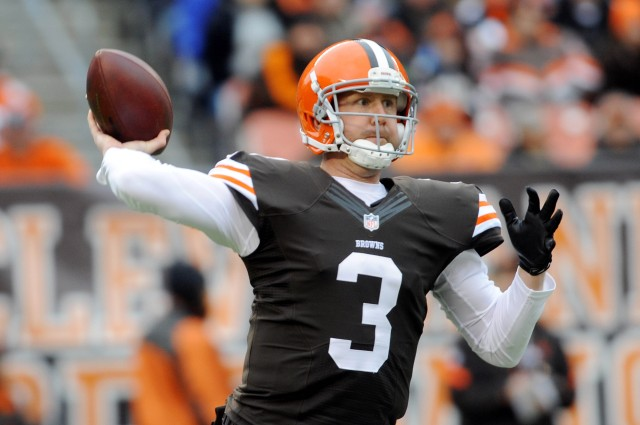 Brandon Weeden (Ken Blaze-USA TODAY Sports)