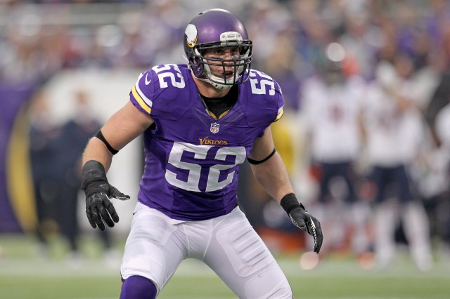 Chad Greenway (Brace Hemmelgarn-USA TODAY Sports)