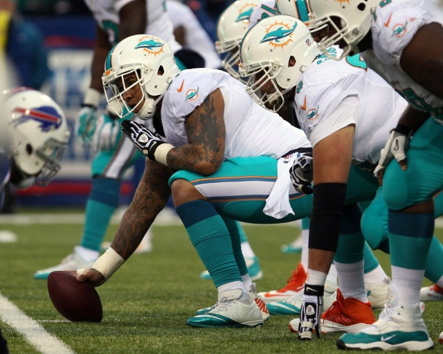 Mike Pouncey (Timothy T. Ludwig-USA TODAY Sports)