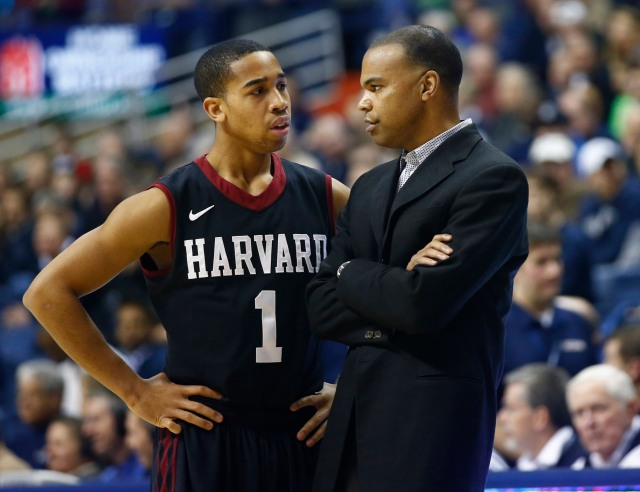 Harvard coach Tommy Amaker will try to pull off an upset for the second consecutive NCAA tournament. David Butler II-USA TODAY Sports.