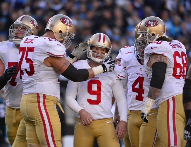 The San Francisco 49ers will welcome kicker Phil Dawson back into the fold. (Bob Donnan - USA TODAY Sports)