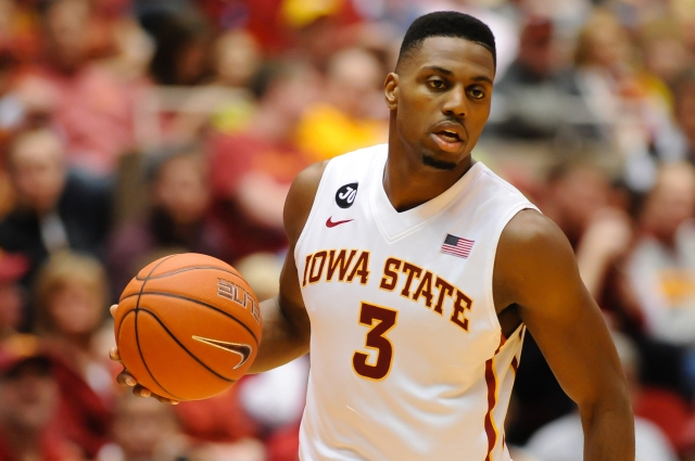 Iowa State Cyclone forward Melvin Ejim won Big 12 player of the year thanks to his versatile scoring ability. Steven Branscombe-USA TODAY Sports.