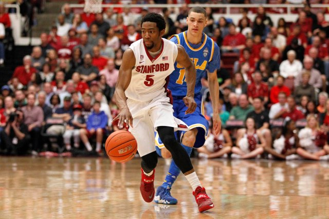 Stanford guard Chasson Randle can score in a variety of ways. Cary Edmondson-USA TODAY Sports.