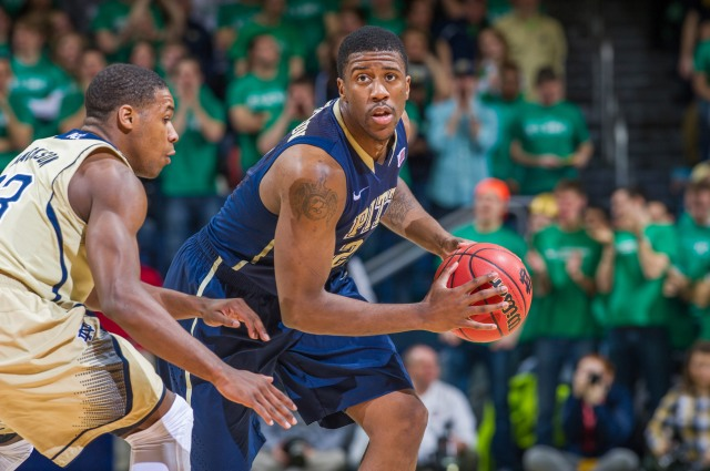 Pittsburgh guard Lamar Patterson does it all for the Panthers. Matt Cashore-USA TODAY Sports.