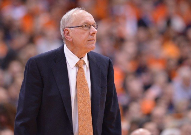 After starting the season 25-0, Jim Boeheim's Syracuse Orange have won only two of their last seven games. Mark Konezny-USA TODAY Sports.