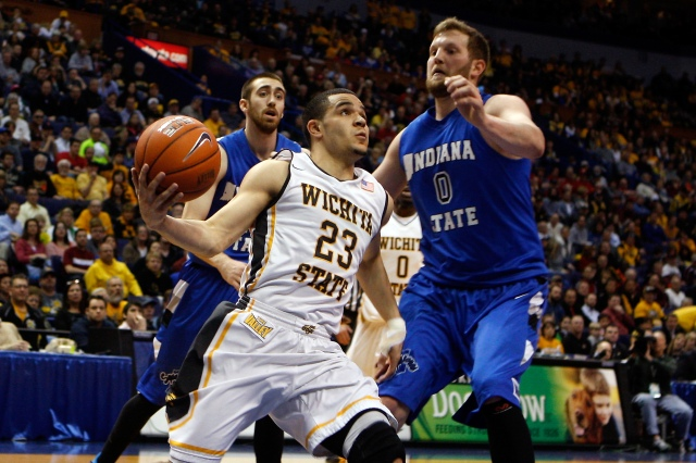 Fred VanVleet does it all for the undefeated Wichita State Shockers. Scott Kane-USA TODAY Sports.