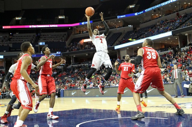 Russ Smith (Nelson Chenault-USA TODAY Sports)