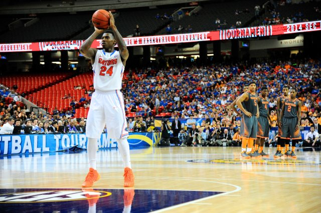 All eyes will be on the Florida Gators' free-throw shooting in the NCAA tournament.