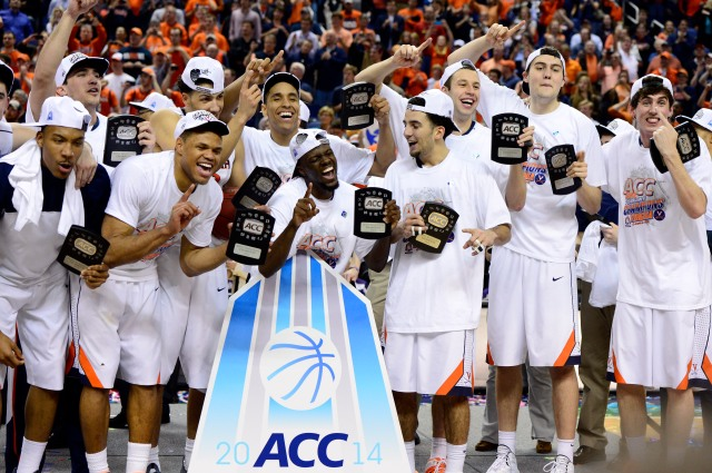 Where will ACC champions Virginia end up in the NCAA Tournament bracket? (John David Mercer-USA TODAY Sports)