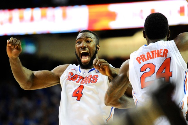 Patric Young (left) and Casey Prather (Dale Zanine-USA TODAY Sports)
