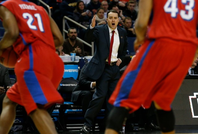 Dayton's Archie Miller earned a contract extension from the school after leading the Flyers to two NCAA tournament wins. Kevin Hoffman-USA TODAY Sports.