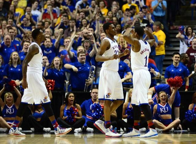 NCAA Basketball: NCAA Tournament-2nd Round-Kansas vs Eastern Kentucky