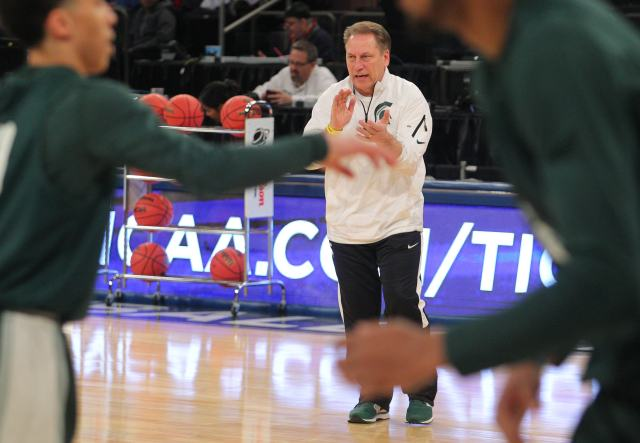Tom Izzo (Brad Penner-USA TODAY Sports)