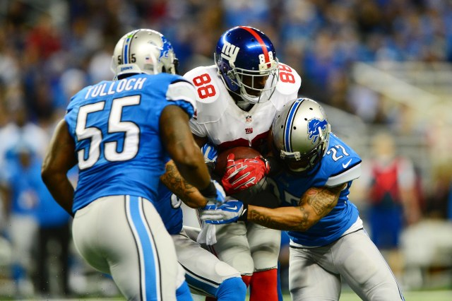 Wide receiver Hakeem Nicks signed Friday with Indianapolis. (Andrew Weber-USA TODAY Sports)
