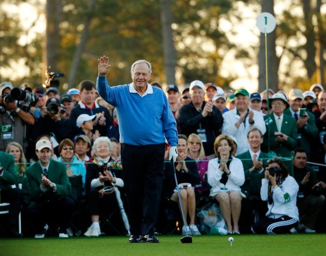 Jack Nicklaus can still crush it. (Jack Gruber, USA TODAY Sports)