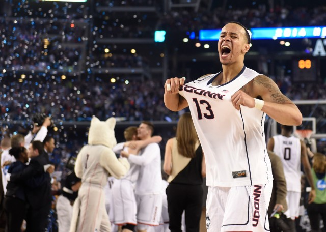 Where does Shabazz Napier rank on the list of all-time tournament stars? (Bob Donnan, USA TODAY Sports)