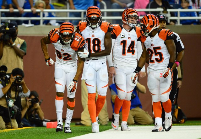 Andy Dalton has been surrounded by talent his whole career. Andrew Weber-USA TODAY Sports.