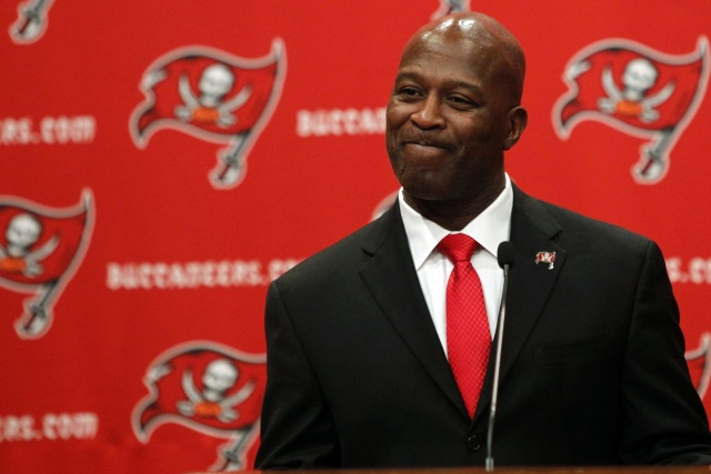 Lovie Smith will return to Chicago as the head coach of the Tampa Bay Buccaneers. (Kim Klement - USA TODAY Sports)