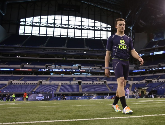 Johnny Manziel (Brian Spurlock-USA TODAY Sports)