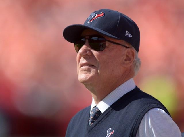 Bob McNair (Kirby Lee-USA TODAY Sports)