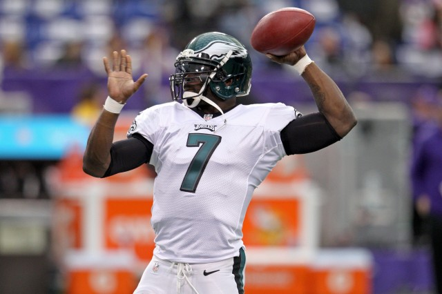 Michael Vick (Brace Hemmelgarn-USA TODAY Sports)