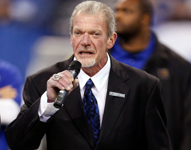 Jim Irsay (Brian Spurlock-USA TODAY Sports)