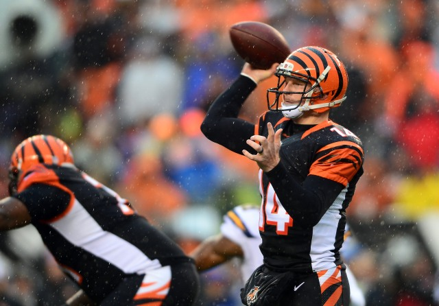 Andy Dalton (Andrew Weber-USA TODAY Sports)