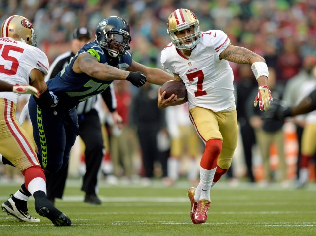 Colin Kaepernick (Steven Bisig-USA TODAY Sports)