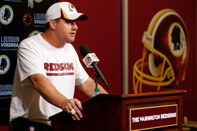 Jay Gruden (Geoff Burke-USA TODAY Sports)