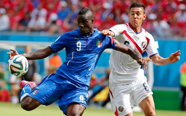 Mario Balotelli has to play better today for Italy to advance. (AP Photo/Frank Augstein)