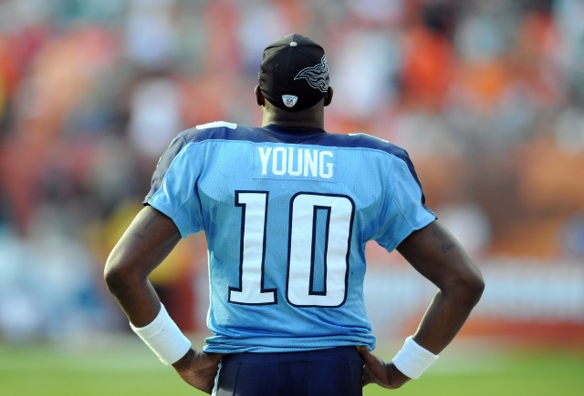 Vince Young was NFL offensive rookie of the year with the Titans in 2006.