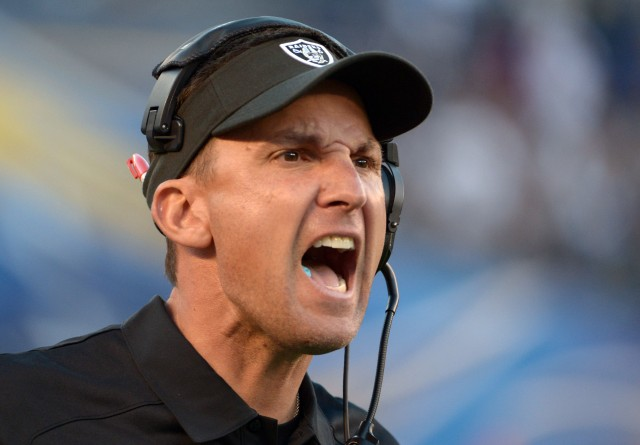 Dennis Allen (Kirby Lee-USA TODAY Sports)