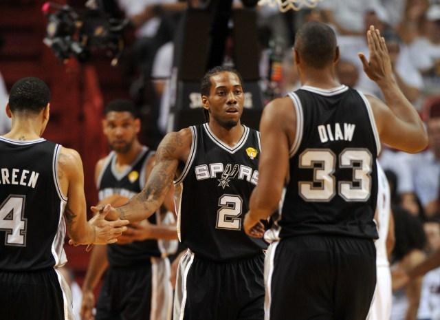 NBA: Finals-San Antonio Spurs at Miami Heat