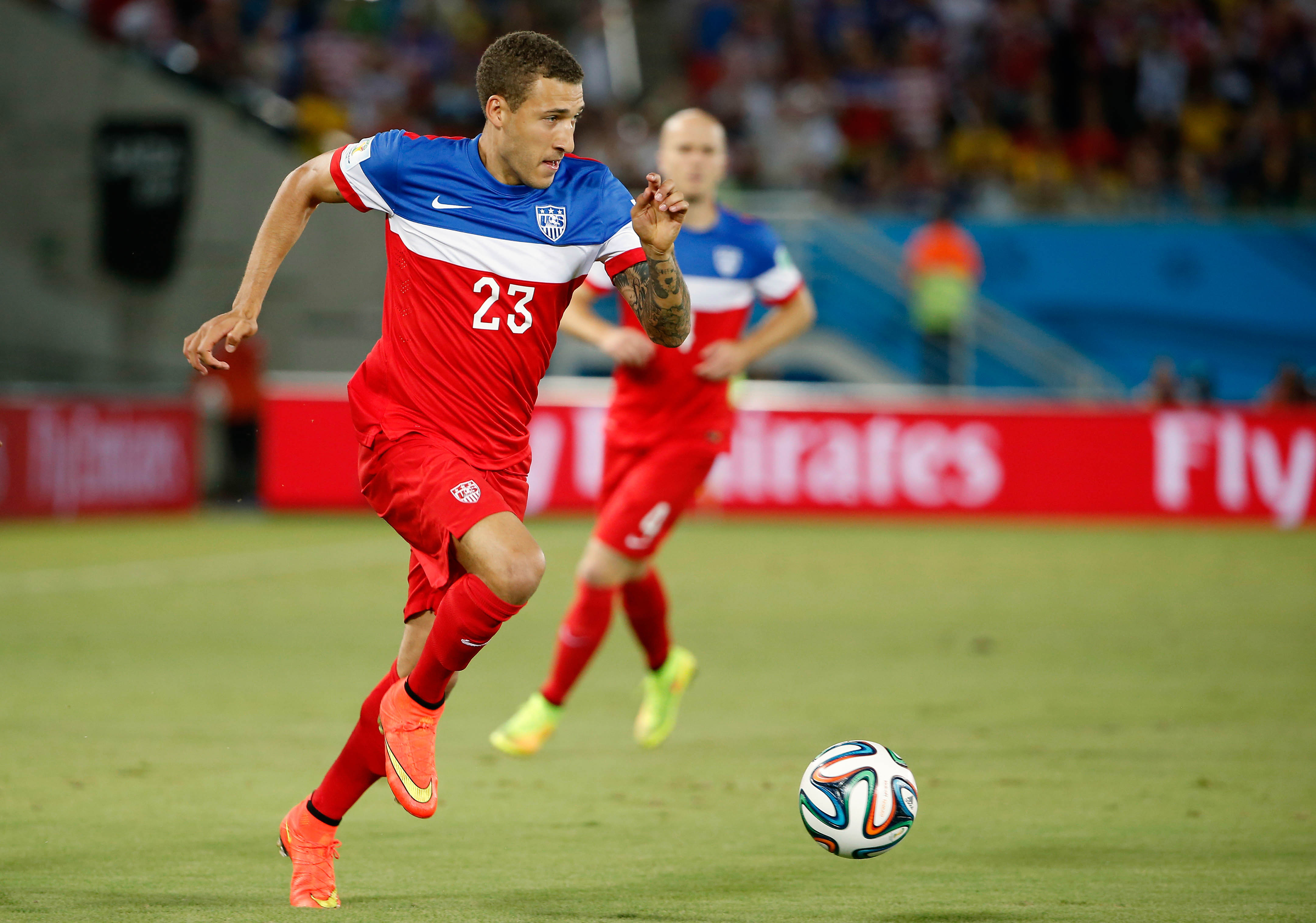 Fabian Johnson (Winslow Townson-USA TODAY Sport)