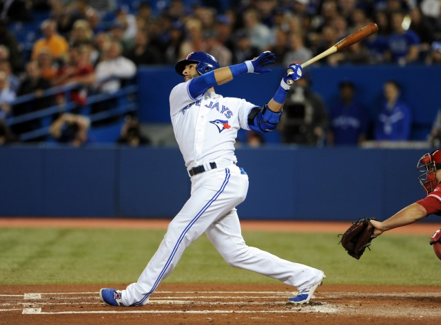 Jose Bautista is the fifth leading home run hitter in  Blue Jay franchise history. (Dan Hamilton, USA TODAY Sports )
