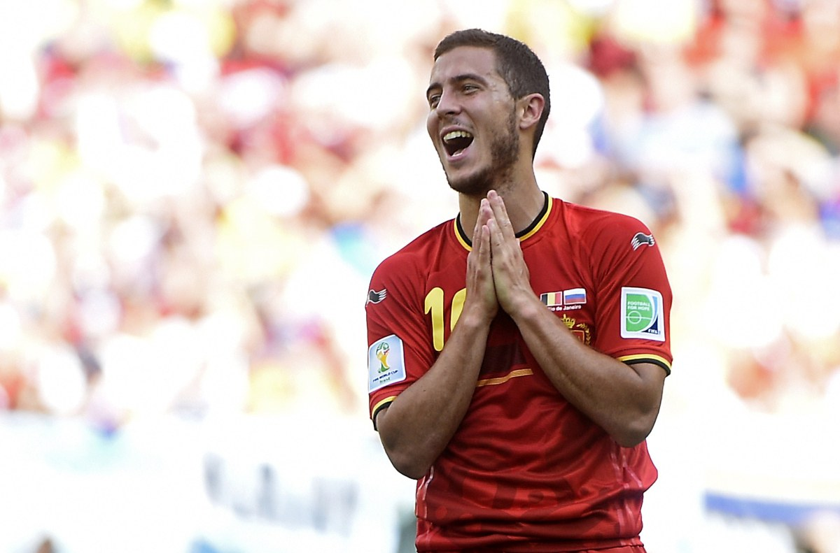 Belgium's Eden Hazard. (Martin Bureau - AFP/Getty Images)