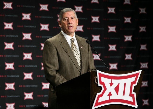 Bob Bowlsby's warnings about the change coming to college athletics are nothing but misdirection. (Kevin Jairaj, USA TODAY Sports)