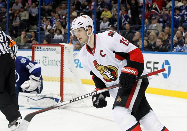 Jason Spezza was dealt to the Dallas Stars before the free agency fireworks began.