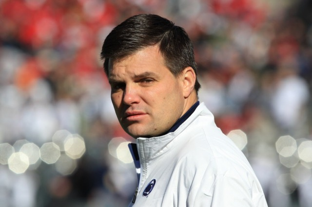 Jay Paterno's suit isn't about coaching again, or money. It's about further swaying the narrative of his father's life. (Matthew Emmons, USA TODAY Sports)