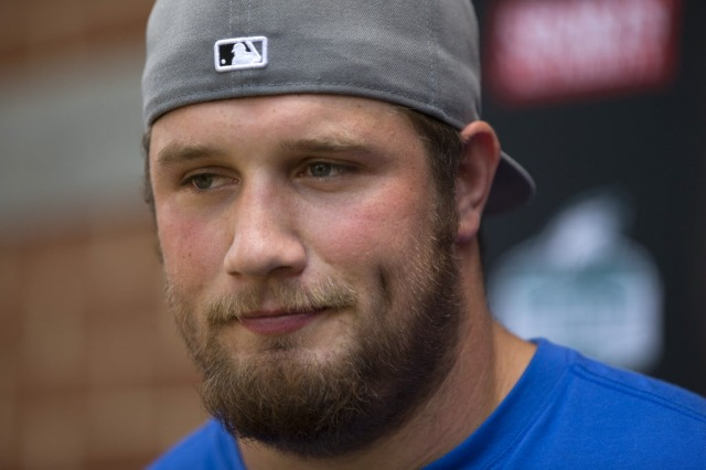 Lane Johnson's absence will cause trouble for the Eagles. (AP Photo)