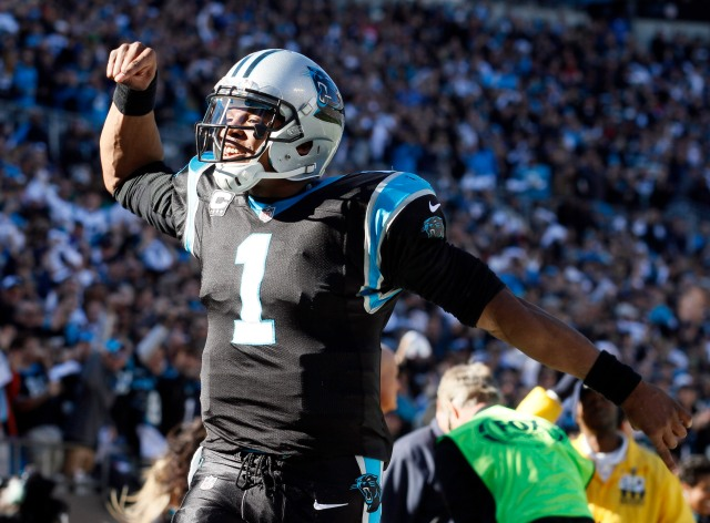 Carolina Panthers QB Cam Newton. (Jeremy Brevard, USA TODAY Sports)